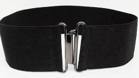 Wide Elastic Belts
