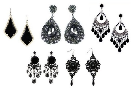 black-earrings