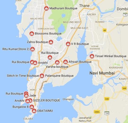 boutiques in mumbai