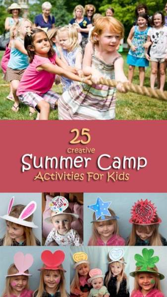 summer camp activities kids