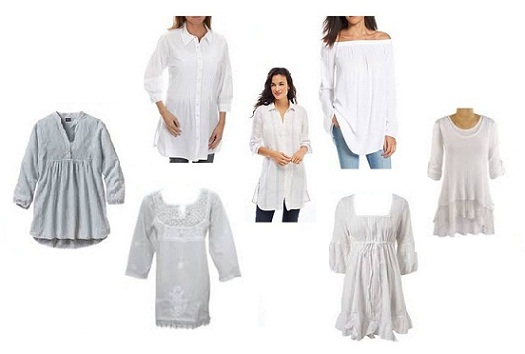 9 Best Fashion White Tunic Tops for Women in India