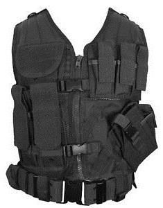 Army Black Vest