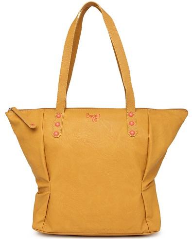 Baggit Women S Handbags In Yellow