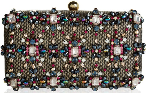 Beaded Studded Clutch bag