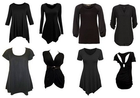 Best Black Tunic Tops Designs for Women