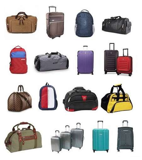 Best Hand Luggage Travel Bags in Different Sizes and Colors