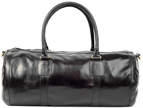 Black Capsule Vintage Duffle Bag for Men