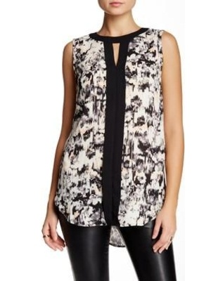 Black and white short tunic 6