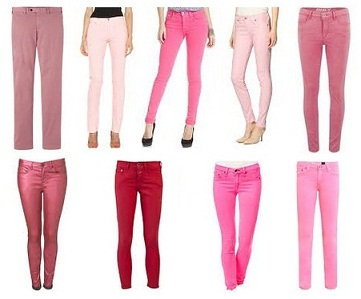 bright-and-light-pink-colored-jeans-and-types