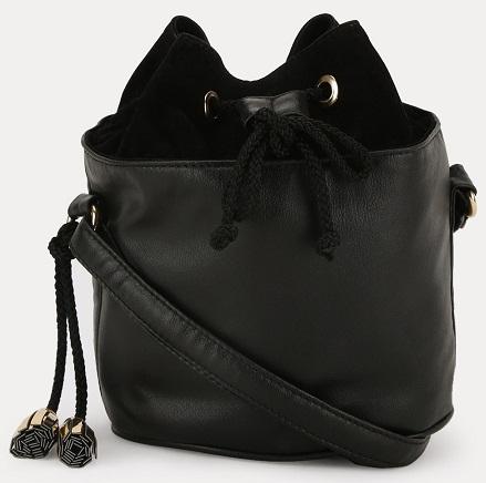 Bucket Drawstring Sling Bag -11