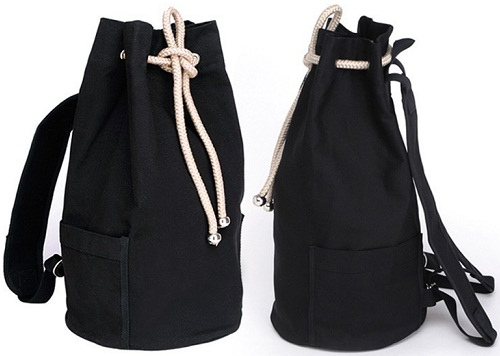 Bucket Style Duffle Bag for Men