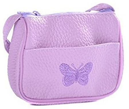 Butterfly Embossed Small Handbags for Girls