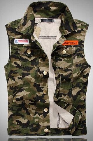 Camouflage Cooling Vest