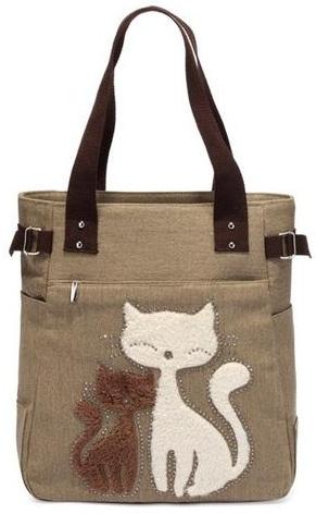 Canvas Fancy Handbag