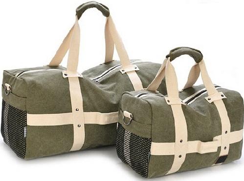 Canvas Travel Bag for Men -11