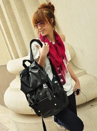 Casual Black Travel Bag -20