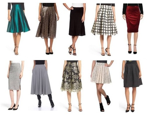 casual-and-formal-knee-length-skirts-for-girls