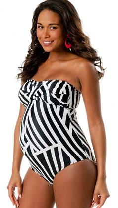 Cute Black and White Striped Design