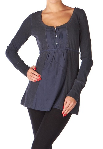 Dark Tunic Top -3