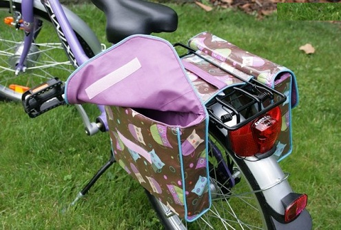 Double Saddle Bags for Bikes