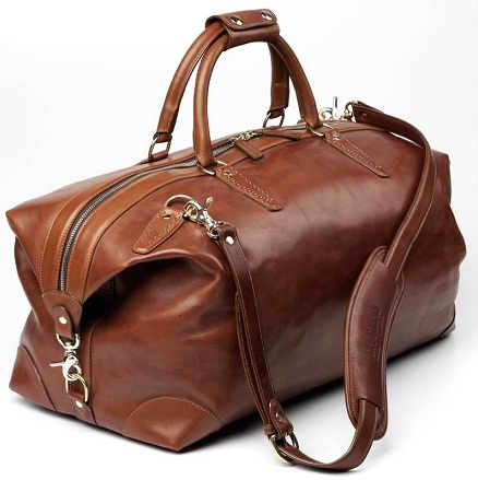 Duffle Leather Bag