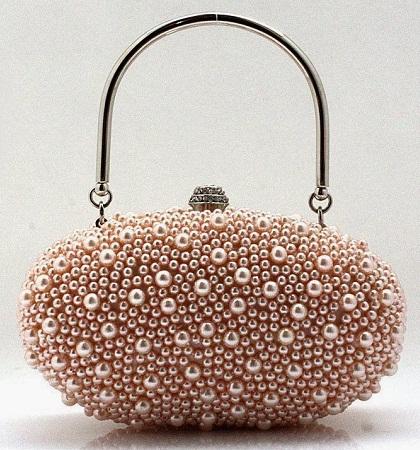 Egg Shaped Fancy Handbag