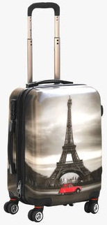 Eiffle Tower Trolley Bags for Men -1