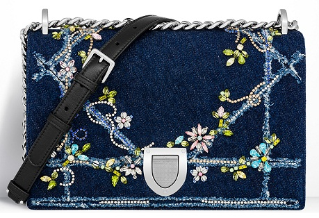 embroidered-christian-dior-denim-bag