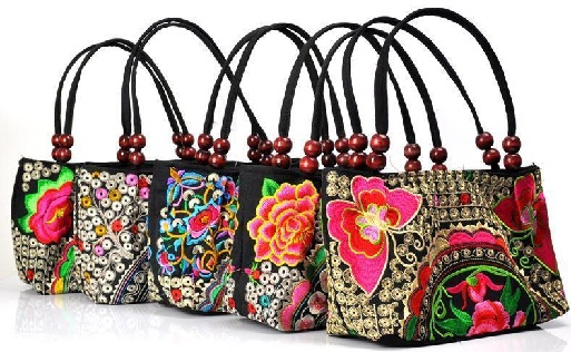 Embroidered Cloth Bag