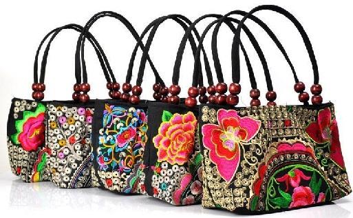 Embroidered Cloth Bag