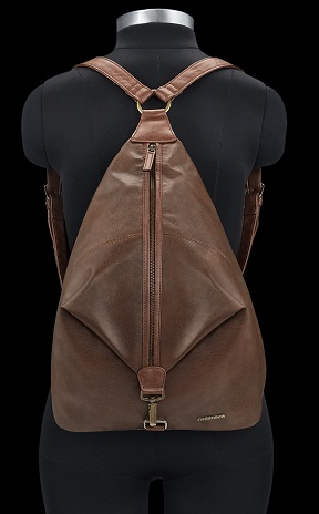 Fast Track Leather Bag for Women