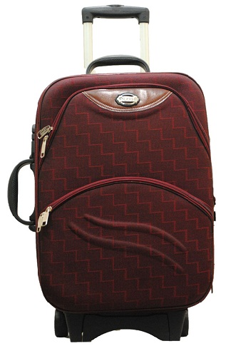 Fast Track Luggage Bag In Trolley Style