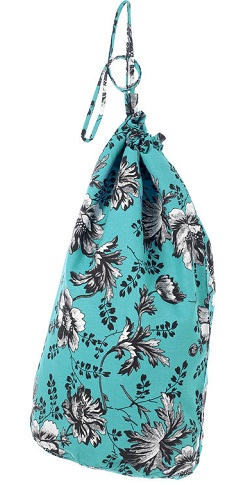 Floral Laundry Bag