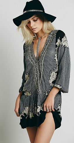 FreePeople Border Print Collar Tunic-16