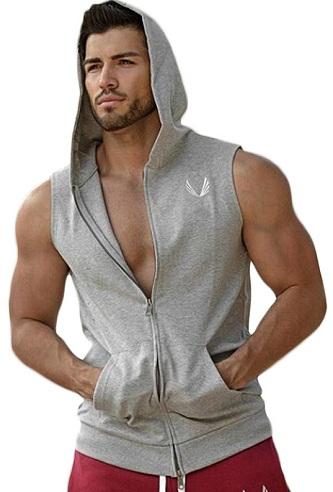 Hooded Gym Vest