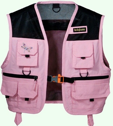 Ladies Fishing Vest