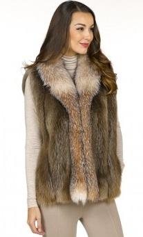 Ladies Fur Vest