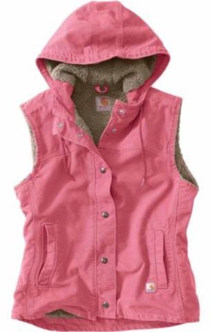 Ladies Hooded Vest