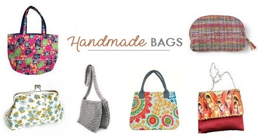 The Handmade Bags Designs Are Unique And Loved By People These Can Be Even Made Recycling Waste Giving Them A Completely New Look Which