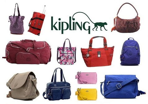 Latest Fashionable Indian Kipling Bags With Hanging Monkey