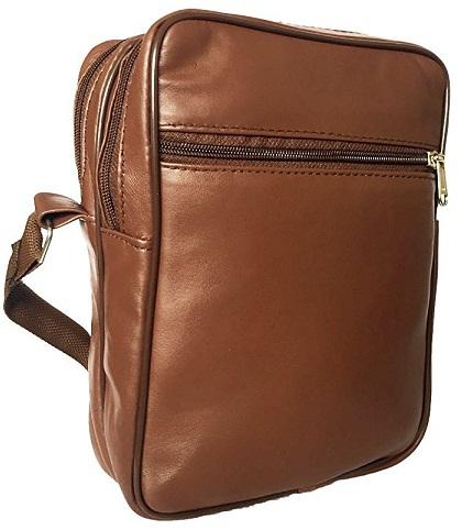 Lunatik Genuine Leather Stylish Sling Cross Body-Bag Messenger Bag -14