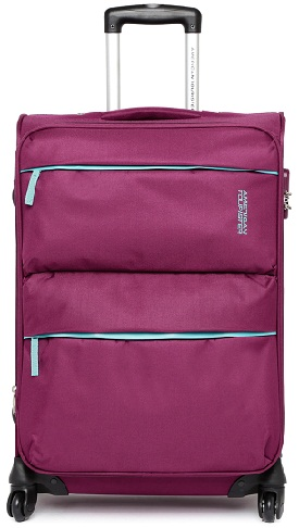 Magenta Medium Trolley Bag -16