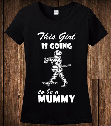 Maternity Black and White T shirt