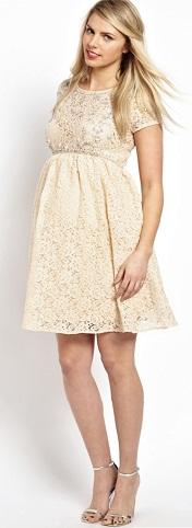 Maternity Designer Short Dress