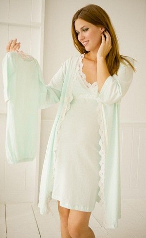 Maternity Night Robe