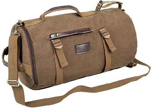 Men Canvas Duffle Gym Bag by E show