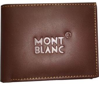 Mont Blanc Leather Wallet for Men