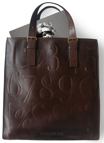 Number Printed Tote Bag
