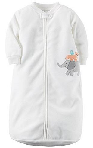 One Piece Zoo Animal Micro Fleece Sleep Bag