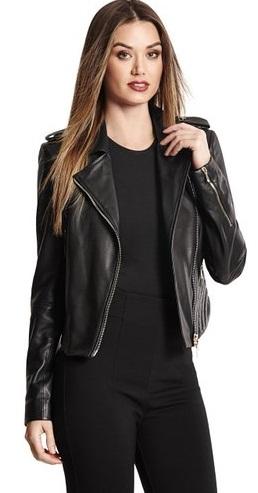 Open Leather Vest